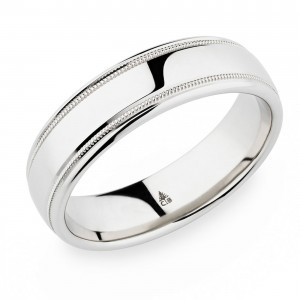 274434 Christian Bauer 14 Karat Wedding Ring / Band