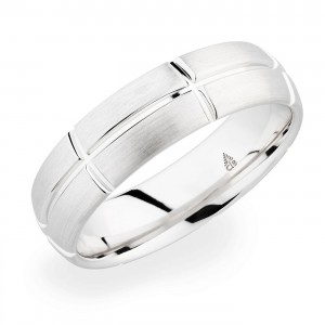 274467 Christian Bauer Platinum Wedding Ring / Band