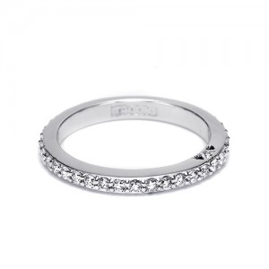 Tacori Platinum Simply Tacori Wedding Band 2630BLG