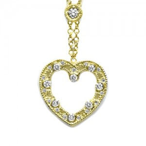Tacori Diamond Necklace Platinum Fine Jewelry FP630Y