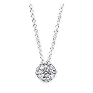 Tacori Diamond Necklace Platinum Fine Jewelry FP64345