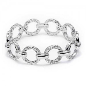 Tacori Diamond Eternity Bracelet Platinum Fine Jewelry FB500