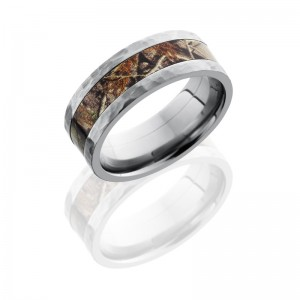 Lashbrook CAMO8F14-RTAP HAMMER Camo Wedding Ring or Band