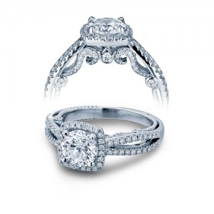 Verragio Platinum Insignia-7069CU Engagement Ring