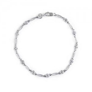Tacori Diamond Bracelet Platinum Fine Jewelry FB614