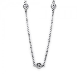 Tacori Diamond Necklace Platinum Fine Jewelry FC109-24