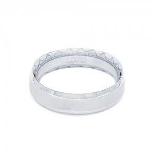 Tacori Platinum Eternity Crescent Wedding Band  626, 626S, 626PB