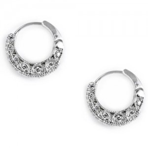 Tacori Diamond Earrings 18 Karat Fine Jewelry FE602