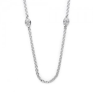 Tacori Diamond Necklace Platinum Fine Jewelry FC100-18