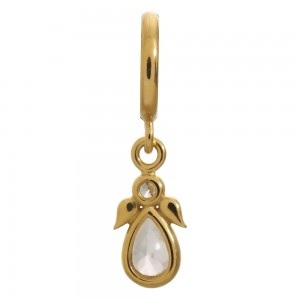 Endless Jewelry Sparkling Angel Gold Plated Charm 53354