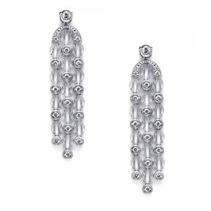 Tacori Diamond Earrings 18 Karat Fine Jewelry FE1017