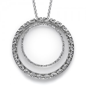 Tacori Diamond Necklace Platinum Fine Jewelry FP581