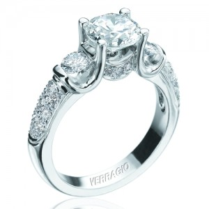 Verragio Platinum Classico Engagement Ring ENG-0125