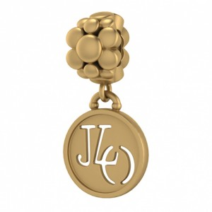 JLo Collection Endless Jewelry JLO Blossom 18k Gold Plated Charm 3855