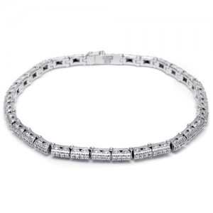 Tacori Diamond Bracelet Platinum Fine Jewelry FB586100
