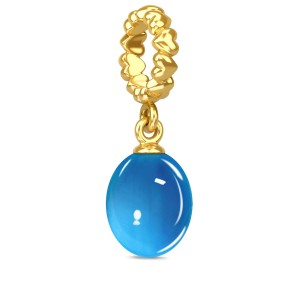 Endless Jewelry September Calmness 18k Gold Plated Charm 53307-9