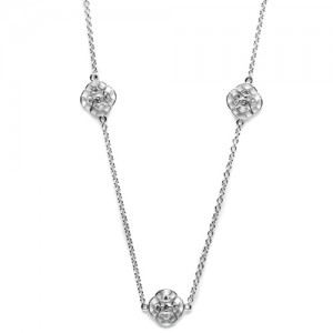 Tacori Diamond Necklace Platinum Fine Jewelry FC104-18