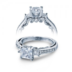 Verragio Platinum Insignia-7067P Engagement Ring