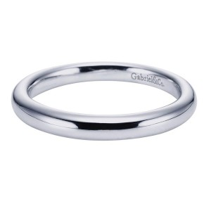 Gabriel 14 Karat Contemporary Wedding Band WB6601W4JJJ