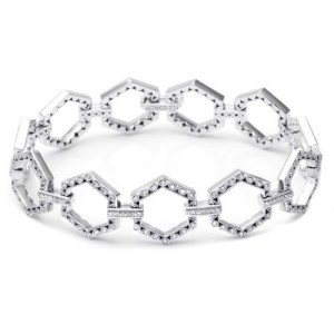 Tacori Diamond Bracelet 18 Karat Fine Jewelry FB592
