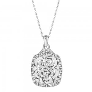 Tacori Diamond Necklace 18 Karat Fine Jewelry FP663S