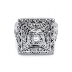 Tacori Diamond Ring 18 Karat Fine Jewelry FR802