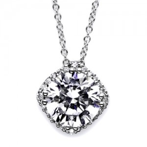 Tacori Diamond Necklace Platinum Fine Jewelry FP6438