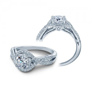 Verragio Platinum Couture Engagement Ring Couture-0405