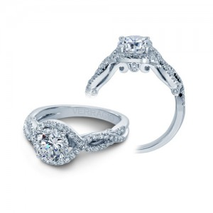Verragio Platinum Insignia-7040 Engagement Ring