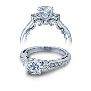 Verragio Platinum Insignia-7067R Engagement Ring