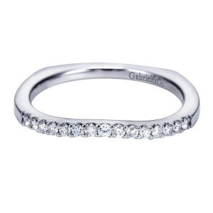 Gabriel 14 Karat Contemporary Wedding Band WB6570W44JJ