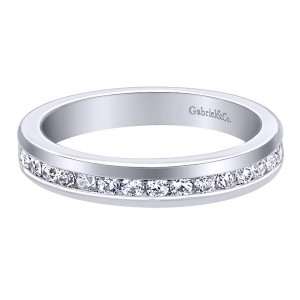 Gabriel 14 Karat Contemporary Wedding Band WB6593W44JJ