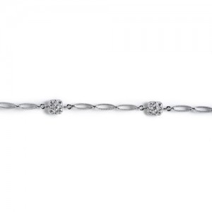 Tacori Diamond Bracelet Platinum Fine Jewelry FB616