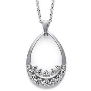 Tacori Diamond Necklace Platinum Fine Jewelry FP573