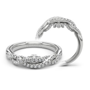 Verragio Insignia-7099W 18 Karat Wedding Ring / Band