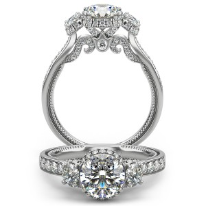 Verragio Insignia-7103R Platinum Engagement Ring