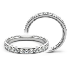 Verragio Insignia-7106W Platinum Wedding Ring / Band