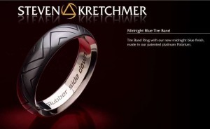 Kretchmer Midnight Blue Polarium Tire Band