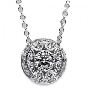 Tacori Diamond Necklace Platinum Fine Jewelry FP52535