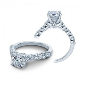 Verragio Platinum Couture Engagement Ring Couture-0410 L R