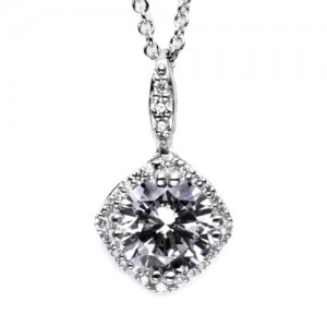 Tacori Diamond Necklace Platinum Fine Jewelry FP6427