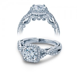 Verragio Platinum Insignia-7070CU Engagement Ring