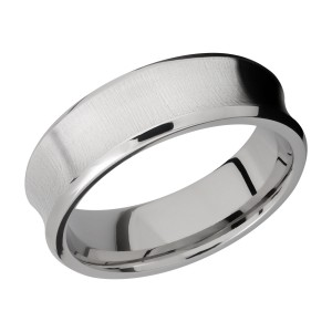 Lashbrook 7CB Titanium Wedding Ring or Band