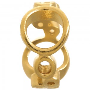 Endless Jewelry Bubbles Gold Plated Charm 51102