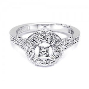 Tacori Diamond Ring 18 Karat Fine Jewelry FR809