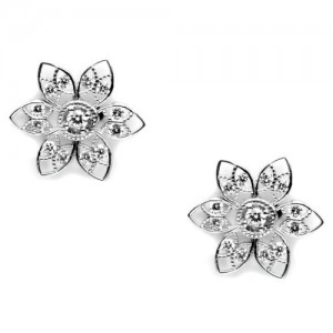 Tacori Diamond Earrings 18 Karat Fine Jewelry FE633