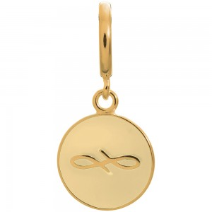 Endless Jewelry Cream Endless Coin Gold Plated Charm 53345-3