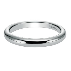 Gabriel 14 Karat Contemporary Wedding Band WB6604W4JJJ
