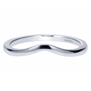 Gabriel Platinum Contemporary Wedding Band WB9006PTJJJ