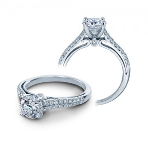 Verragio Platinum Couture Engagement Ring Couture-0382 R